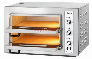 Piec do pizzy dwukomorowy, 8 x pizza 25 cm NT 502 BARTSCHER 2002028