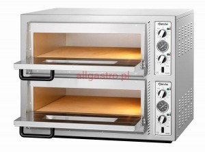 Piec do pizzy dwukomorowy 8 x pizza 30 cm NT 622 BARTSCHER 2002095